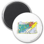 Shazam Acronym 2 2 Inch Round Magnet