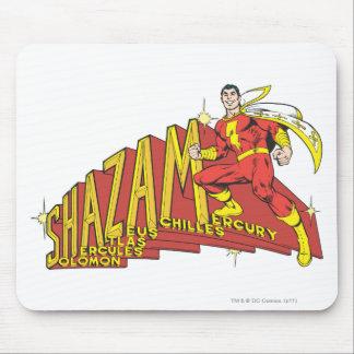 Shazam Acronym Mouse Pad