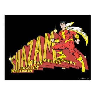 Shazam Acronym Post Card