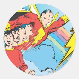SHAZAM/Billy Batson Classic Round Sticker