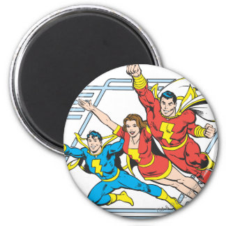 SHAZAM Family Magnets