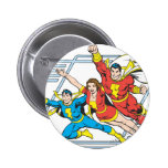 SHAZAM Family Pinback Button