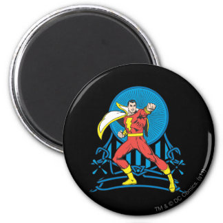 SHAZAM in Fight Stance Magnet