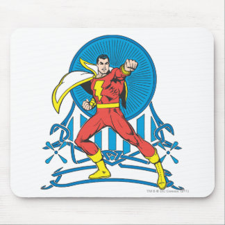 SHAZAM in Fight Stance Mouse Pad
