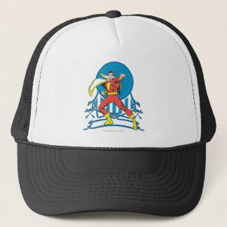 SHAZAM in Fight Stance Trucker Hat