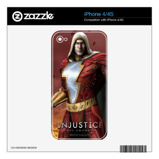Shazam iPhone 4 Decal