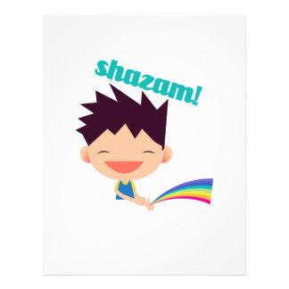 Shazam Letterhead