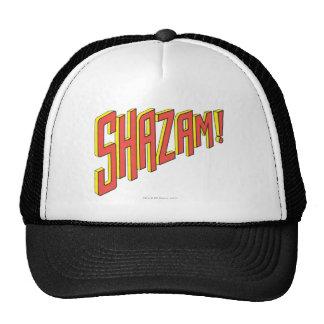 Shazam Logo Red/Yellow Hat