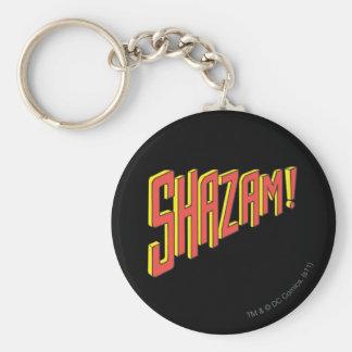 Shazam Logo Red/Yellow Key Chain