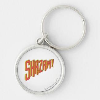 Shazam Logo Red/Yellow Keychain