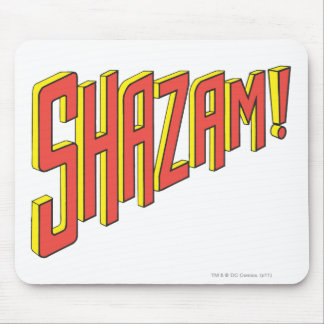 Shazam Logo Red/Yellow Mouse Pads
