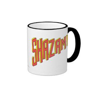 Shazam Logo Red/Yellow Mugs