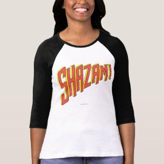 Shazam Logo Red/Yellow Tees