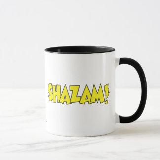 Shazam Logo Yellow Mug