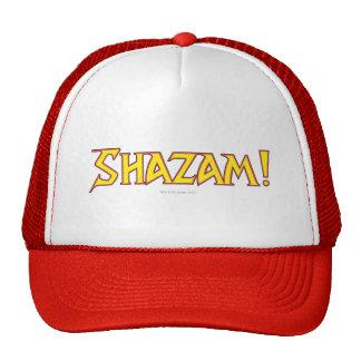 Shazam Logo Yellow/Red Trucker Hats