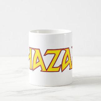 Shazam Logo Yellow/Red Coffee Mugs