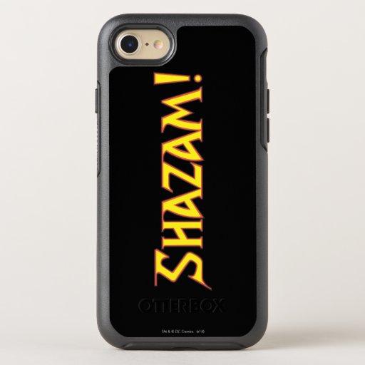 Shazam Logo Yellow/Red OtterBox Symmetry iPhone SE/8/7 Case