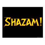 Shazam Logo Yellow/Red Post Card