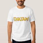 Shazam Logo Yellow/Red T Shirt