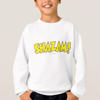 Shazam Logo Yellow Sweatshirt