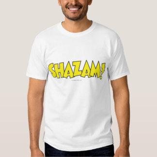 Shazam Logo Yellow T-Shirt