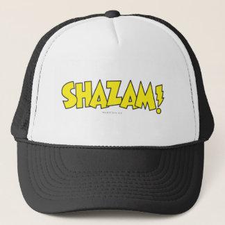 Shazam Logo Yellow Trucker Hat