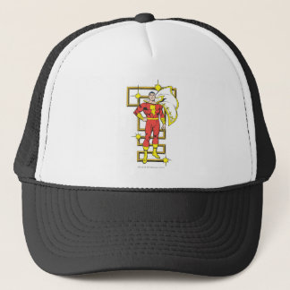 SHAZAM Poses Trucker Hat