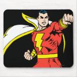 Shazam Ready to Fight Mouse Pad