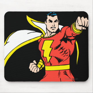 Shazam Ready to Fight Mouse Pad