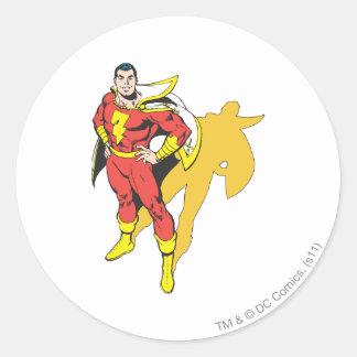 SHAZAM Shadow Classic Round Sticker