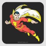 Shazam Soaring Square Sticker