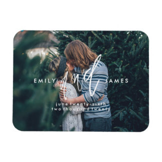 She and Him   Save the Date Magnet