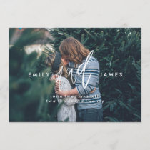 She and Him | Save the Date Photo Card