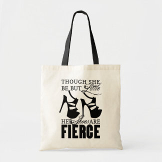 She Be But Little/Fierce Shoes Tote Bag