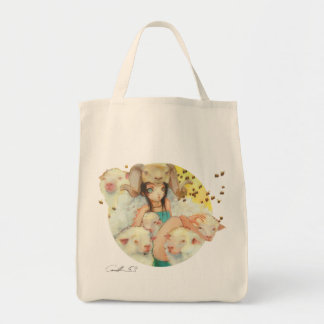 She Bee Ramming Grocery Tote Grocery Tote Bag
