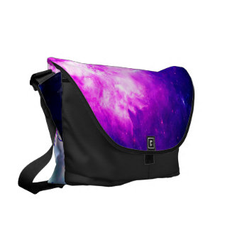 She Believed in Creation's Heaven Messenger Bag