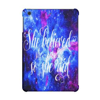 She Believed in Lover's Dream iPad Mini Case