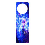 She Believed in Lover's Dreams Door Hanger