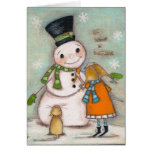 She Believed in Making Friends - Greeting Card
