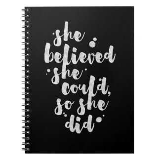 She Believed She Could - Inspirational Journal