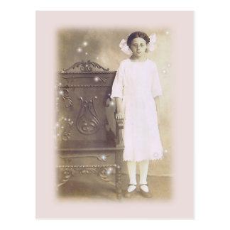 She believed Vintage Photo Art Postcard