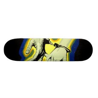 'She Bites her Lip' Skateboard