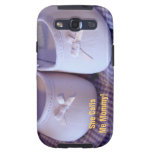 She calls me Mommy! Samsung case Baby Shoes Samsung Galaxy SIII Cover