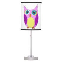 She Cartoon Owl Table Lamp