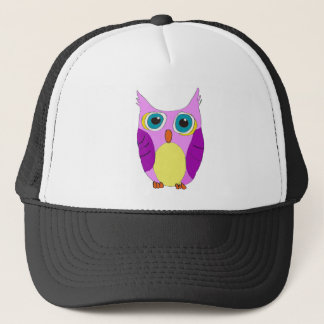 She Cartoon Owl Trucker Hat