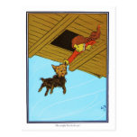 She Caught Toto By The Ear Postcard