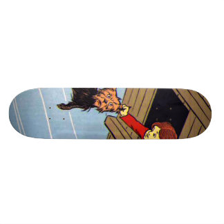 She caught Toto by the ear Custom Skate Board
