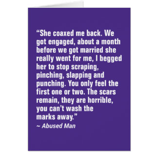 She Coaxed Me Back. We Got Engaged … Card