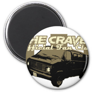 She Craves Official Fan Club Merch 2 Inch Round Magnet