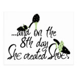 She Created Shoes Postcards